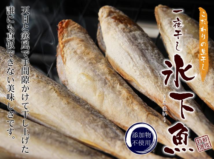 氷下魚(コマイ)