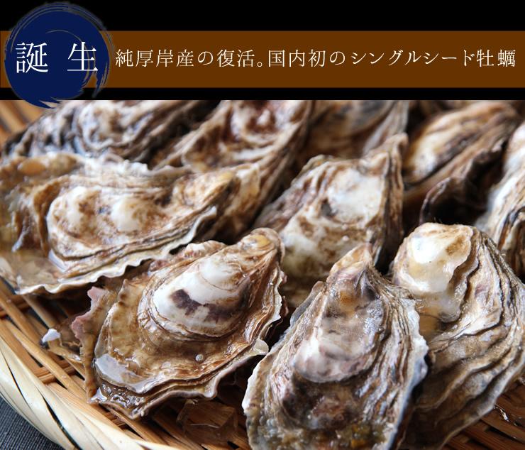 厚岸のカリスマ漁師「中嶋さんが作る牡蠣」
