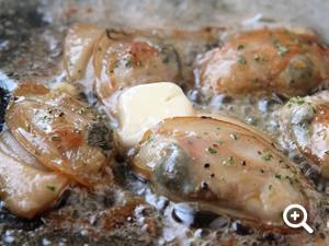 白貝のバター焼き