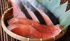 旨みたっぷりの秋鮭を塩で熟成