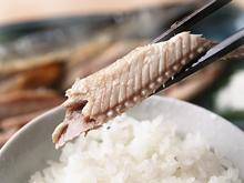 釧路産一夜干し秋刀魚